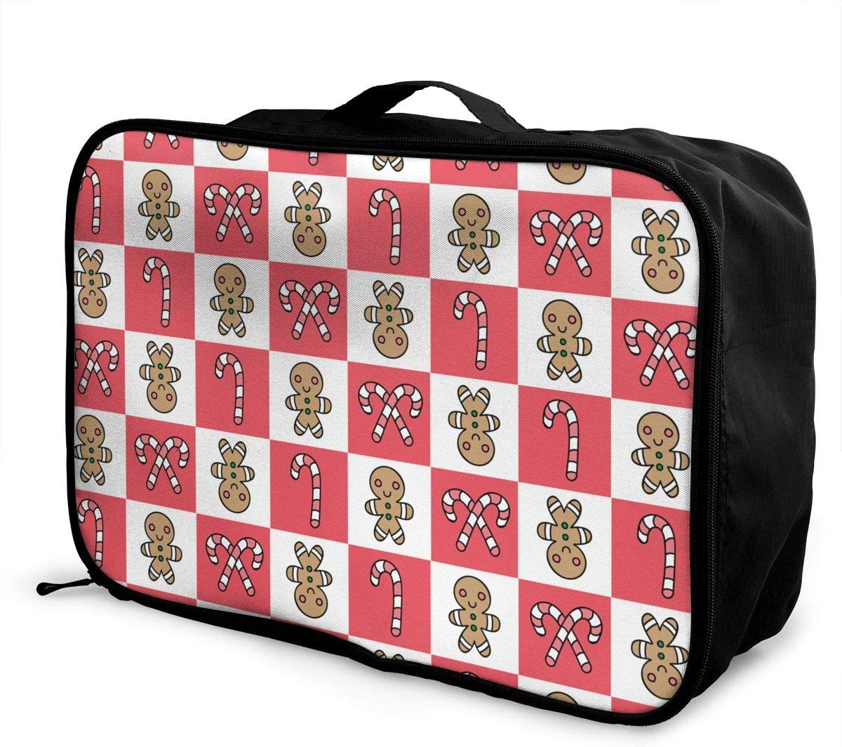 Candy Cookie Travel Carry-on Luggage Weekender Bag Overnight Tote Flight Duffel In Trolley Handle
