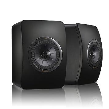 KEF altavoz LS 50 Black Edition - All Black (par): Amazon.es: Electrónica