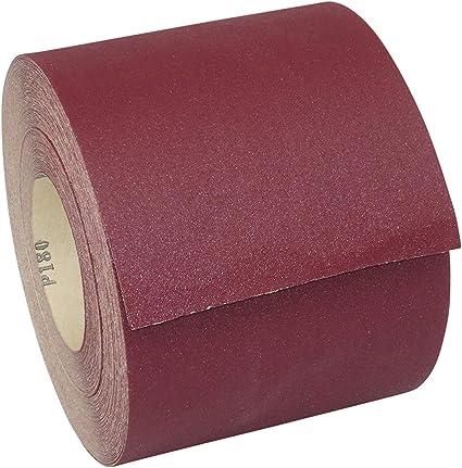 Papier de Verre Eckra 1 Rouleau Rouge 115 mm X 50 M Grain 400