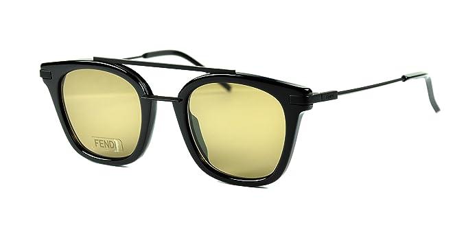 Amazon.com: Fendi FF 0224/S – Gafas de sol color 80770 Negro ...