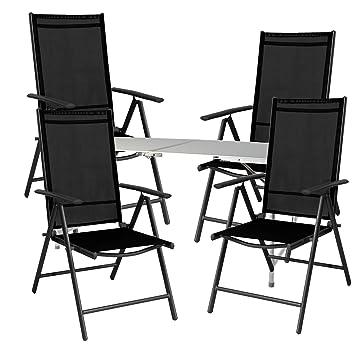 Mojawo® Salon de Camping 5 pièces Table Pliante de Camping ...