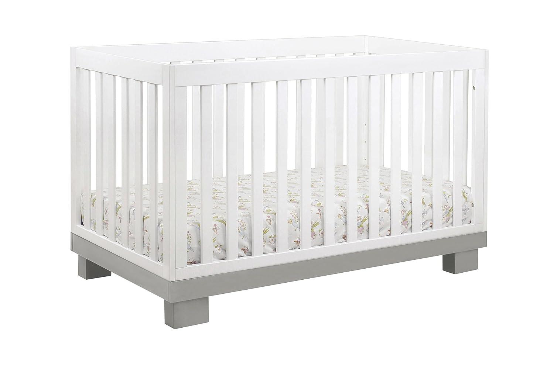 amazoncom  babyletto modo in convertible crib with toddler  - amazoncom  babyletto modo in convertible crib with toddler bedconversion kit grey and white  baby