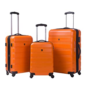 Merax Travelhouse Luggage 3-Piece Expandable Spinner Set