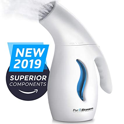 Heating Clothes Amazon Com >> Pursteam Garment Steamer For Clothes Elite Powerful 7 1 Fabric Steamer For Home Travel Remove Wrinkles Steam Soften Clean Sanitize Sterilize And