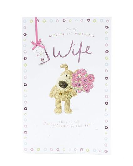 Tarjeta de cumpleaños para esposa, tarjeta de regalo para ...