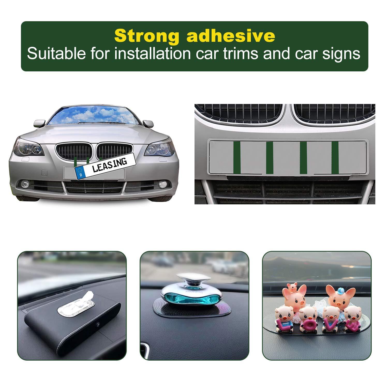 YMHAN Acciaio Inossidabile Tapo Serbatoio di Gas Box Cover Car-Styling Accessori for Peugeot 206 207 Citroen C2 Color : Silver