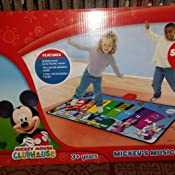 Amazon Com Disney Junior Mickey Mouse Music Mat