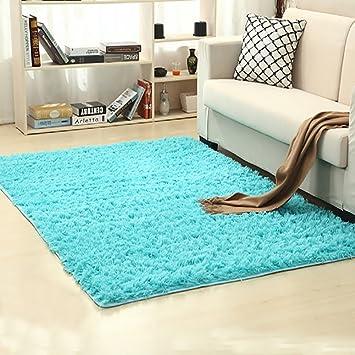 Amazon Com Super Soft Indoor Modern Shag Area Silky Smooth Fur