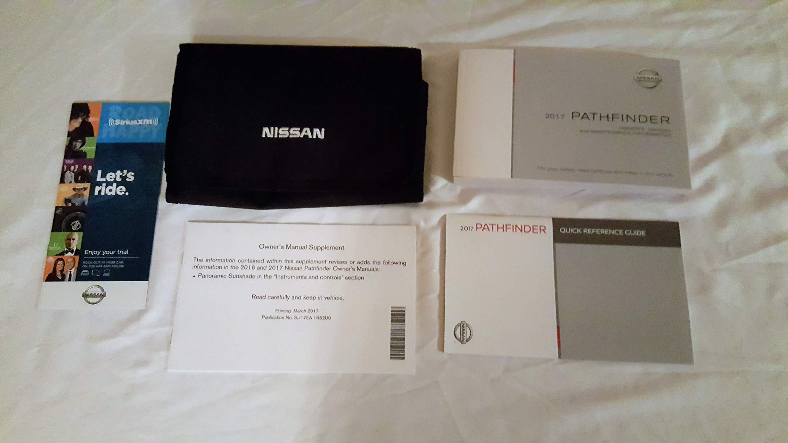 nissan pathfinder manuals