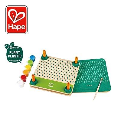 Hape DIY Flower Press Art Kit  Wooden & Plant Plastic Art Flower Press for Children Ages 5 & Up: Toys & Games