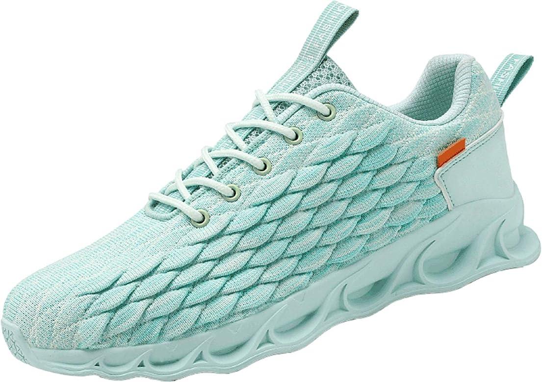 OREEO - Zapatillas de Running para Hombre, Casuales, Deportivas, Senderismo, Transpirables, para Entrenamiento al Aire Libre, Azul (Azul), 42.5 EU: Amazon.es: Zapatos y complementos