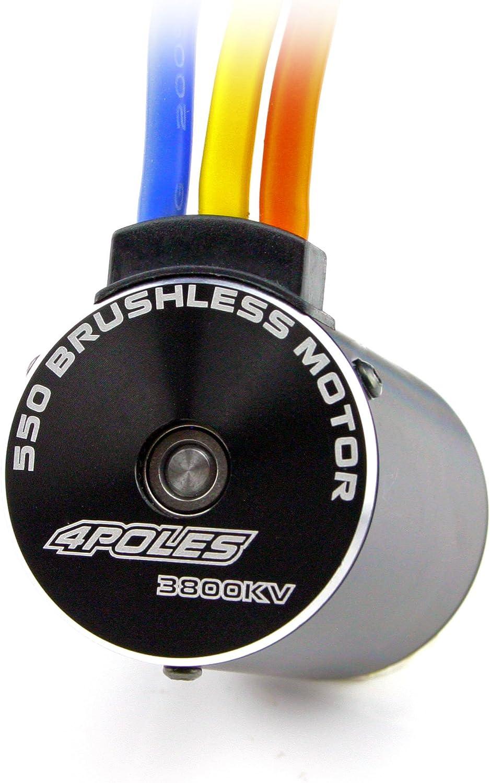 HobbyStar 550 4-Pole Brushless Sensorless Motor 3.2mm Shaft 3800KV
