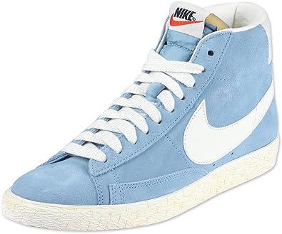 best service a1f1a 1ba13 Nike Blazer Women s MID Suede 518171 400 (359), Size 42 Blue