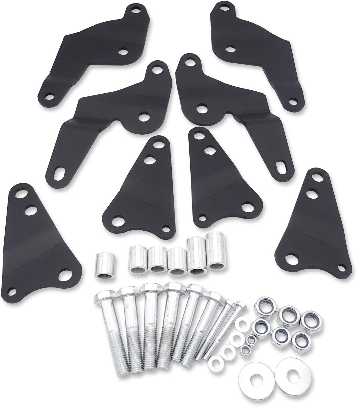 WeiSen 3 Inches Front and Rear Suspension UTV Full Lift Kit Fit 2014-2018 Can-Am Maverick 1000//1000 XXC//Max 1000