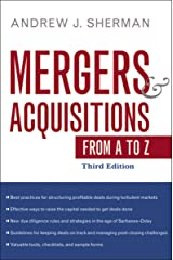 Mergers and Acquisitions from A to Z Hardcover