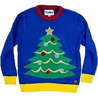 Tipsy Elfos bebé árbol de Navidad feo suéter feo de Navidad – Suéter feo para bebé