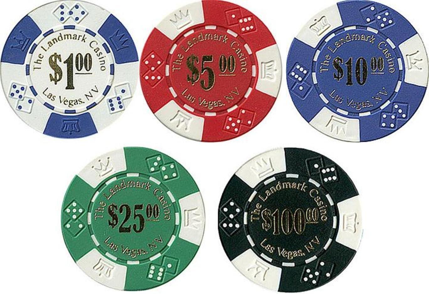 casino chip landmark poker