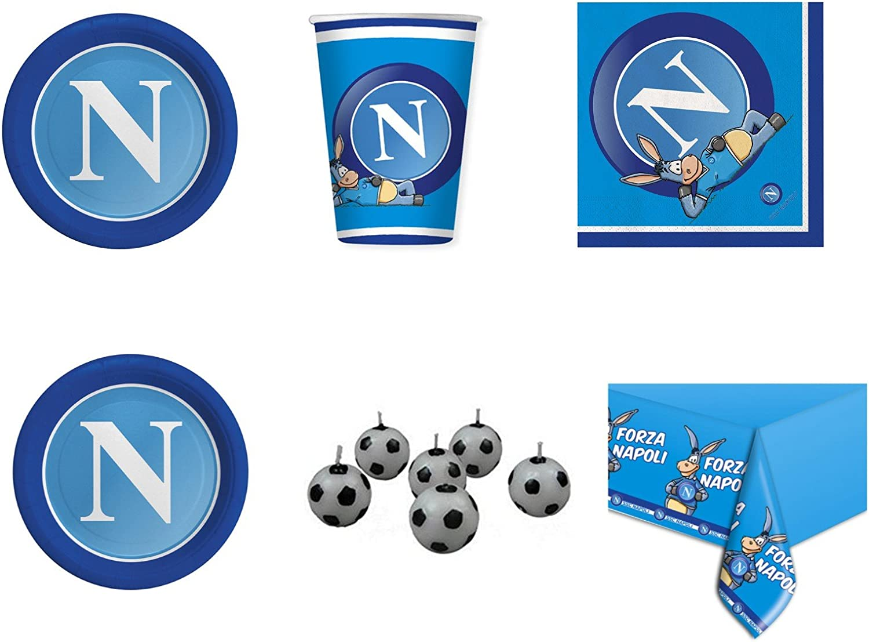 coordinato Sport SSC Napoli Fútbol para cumpleaños eventos addobbi ...