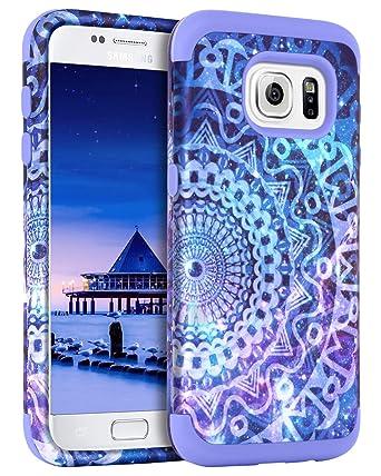 Amazon.com: Guagua - Carcasa para Samsung S6, diseño de ...