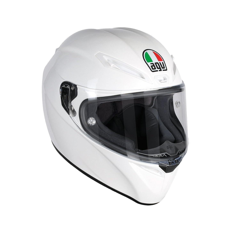 Matt Schwarz Gr/ö/ße S AGV Motorradhelm Veloce S E2205 Solid PLK