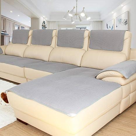 Lu Anti-Deslizante Estilo Europeo de algodón sofá cojín de ...