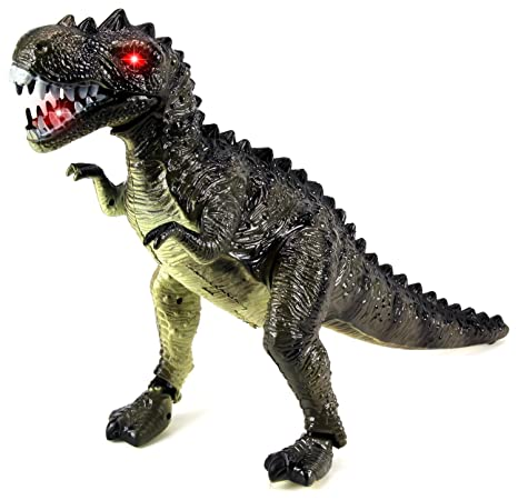 Battery Operated Dinosaurs Animals & Dinosaurs Action Figures