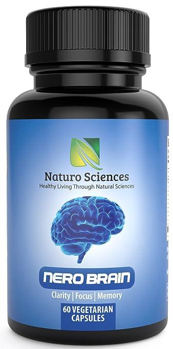 Amazon Com Naturo Sciences Nero Brain Booster Nootropic Supplement