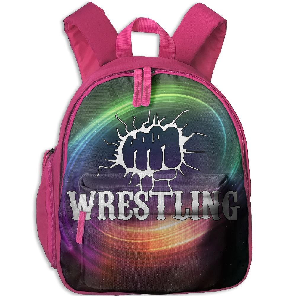 Funny Fist Wrestling Lightweight Cute Durable Cute Kid's Backpack Best For Toddler