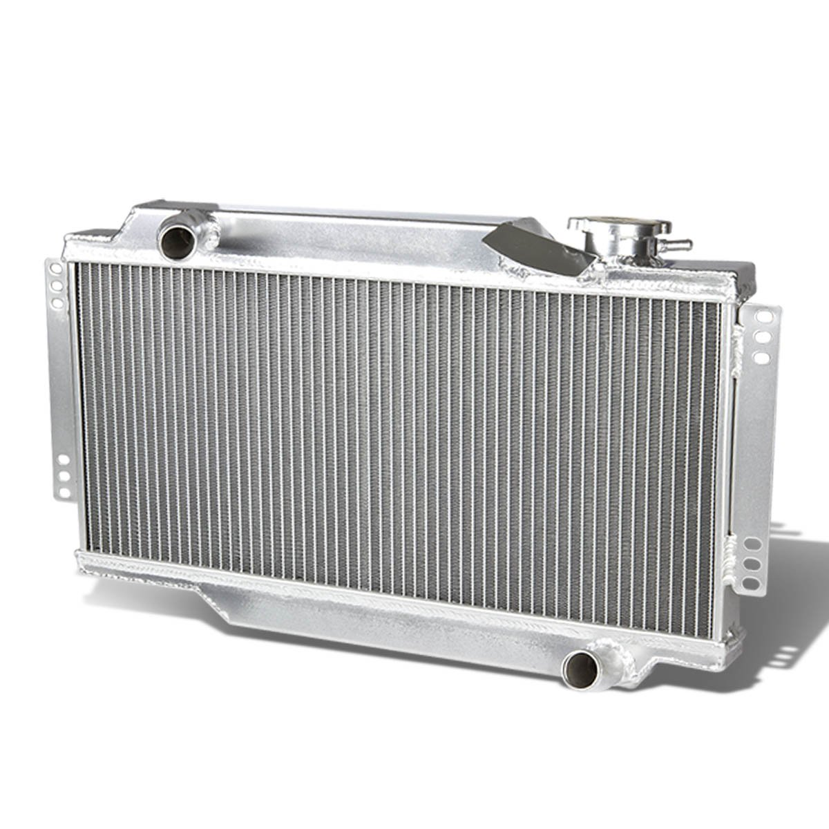 For Triumph Spitfire Full Aluminum 2-Row Racing Radiator - Mark III IV 3 4 Auto Dynasty