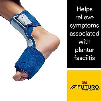 Futuro Night Plantar Fasciitis Sleep Foot Support, Helps Relieve Symptoms  of Plantar Fasciitis, Firm