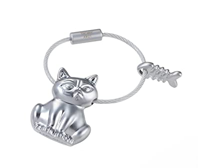 Amazon.com: Troika – Bad Cat – kr17 – 15/MA – Llavero – Cat ...
