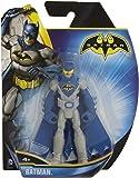 Mattel – Batman – Y6627 – Batsuit Bleu & Gris avec Lunettes Jaune – 1 Figurine 10 cm