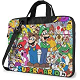 NDSXTLCA The Joker 17.3-Inch Laptop Shoulder Sleeve Bag Case with Handle for 17 17.3 Acer Dell Hp Classic Colorful 15.6 inch