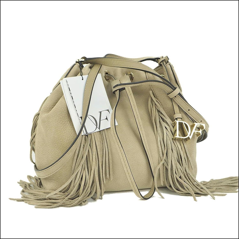 ダイアンフォンファステンバーグ 巾着バッグ ボヤージュボーホークロスボディ ベージュ レディース 中古 B01MUH5T5N