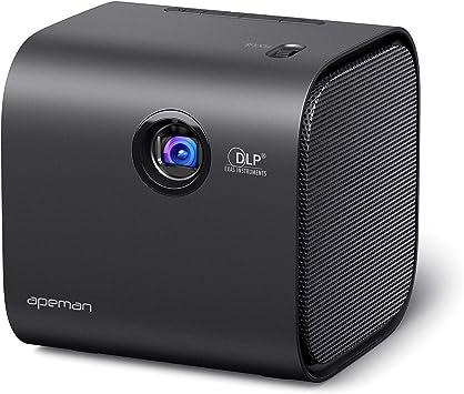Apeman DLP - Mini proyector portátil de vídeo para casa con ...
