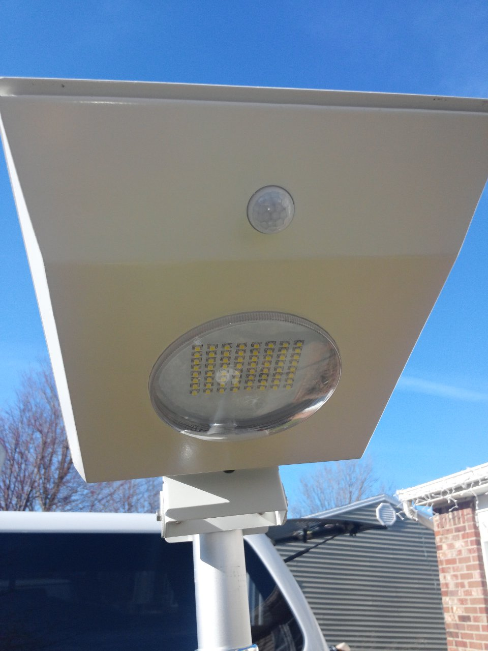 ALL IN ONE SOLAR SECURITY STREET-POST-WALL-GARDEN LIGHT High output LED's AUTOMATIC 10-12HRS by PolePalUSA
