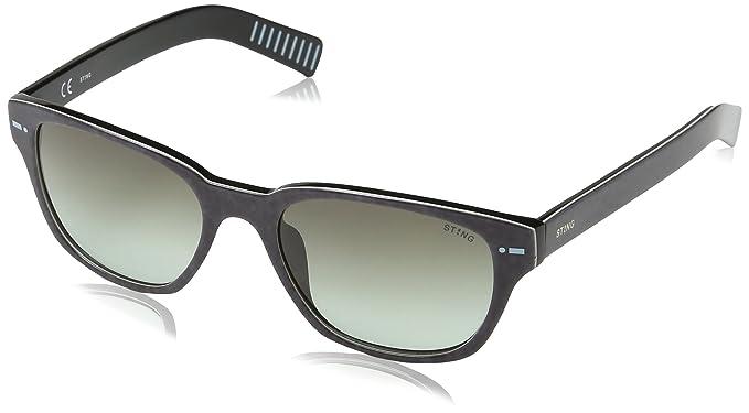 Sting Ss653, gafas de sol para Hombre, Verde (SHINY JEANS ...