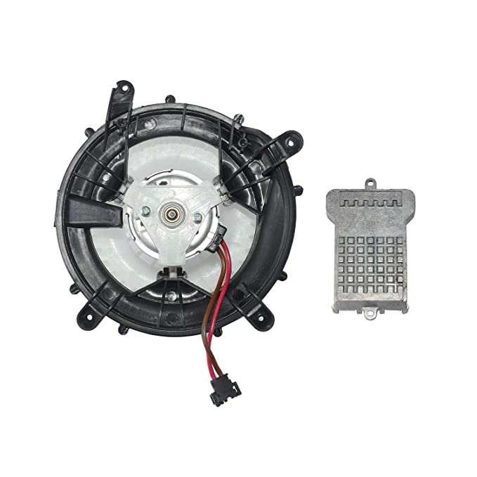 Amazon.com: Heater Blower Motor& Blower Motor Regulator For Mercedes W210 W220 S210 C215: Automotive