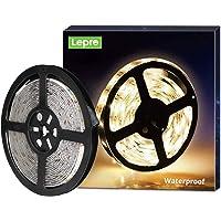 LE 5M Warm Wit LED-Strookset, IP65 12V LED-Stroken, Zelfklevende LED-Stroken, Flexibele LED-Strook, LED-Strook, LED…
