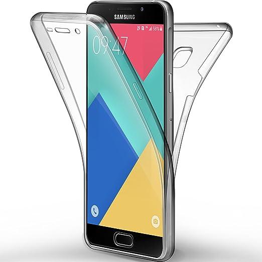 4 opinioni per Cover Galaxy A5 2016, Leathlux Custodia Galaxy A5 2016 Silicone Morbido