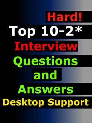 technical support interview questions and answers
