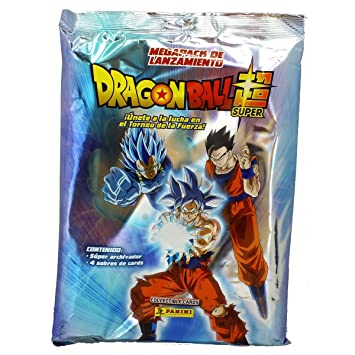 Panini- 003756SPE2 Megapack Archivador Dragon Ball Super, 4 Sobres