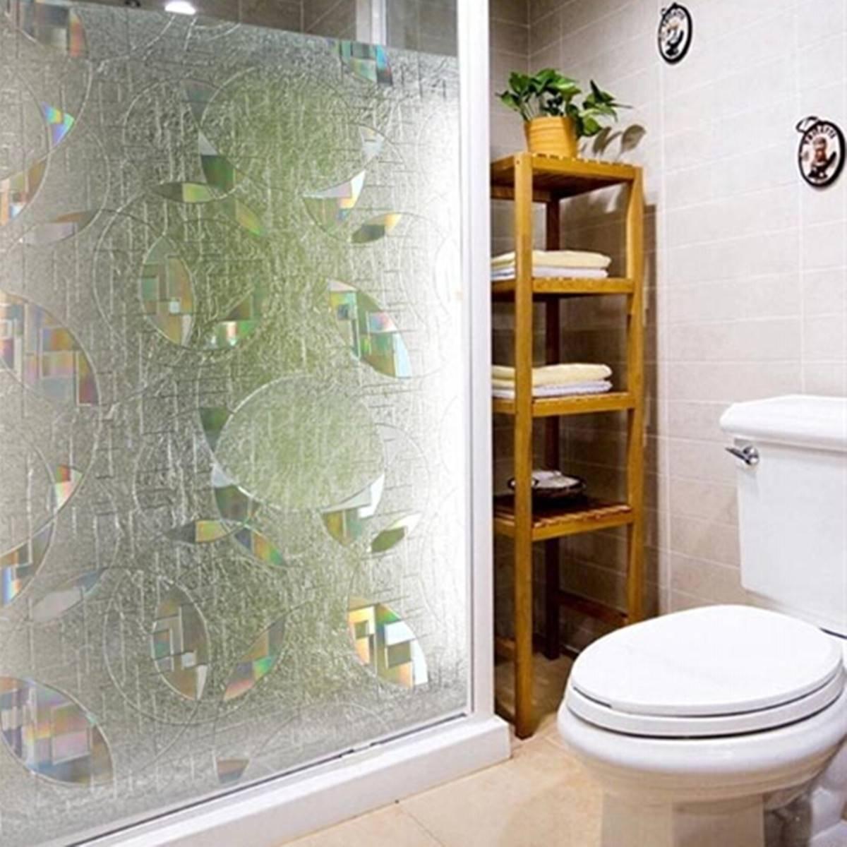 KING DO WAY 3D Static Fensterfolie Sichtschutzfolie Glasfenster-Papier Glasfenster-Papier Glasfenster-Papier Frosted UV Datenschutz 2c1bad