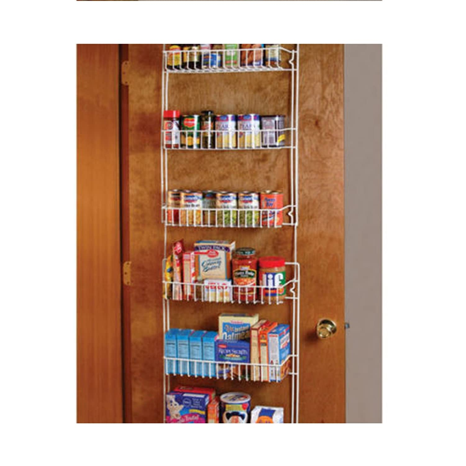 Wondrous Heaven Tvcz Over The Door Storage Rack White Shelf Kitchen Pantry Spice Space Saver Organizer For The Pantry Download Free Architecture Designs Intelgarnamadebymaigaardcom