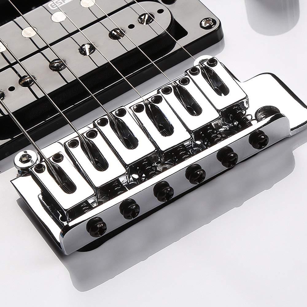 Miiliedy Minimalista Guitarra Eléctrica Principiantes Estudiantes Autoestudio Práctica Tocando Roll Blues Heavy Metal Estilos de música popular Conjunto de ...