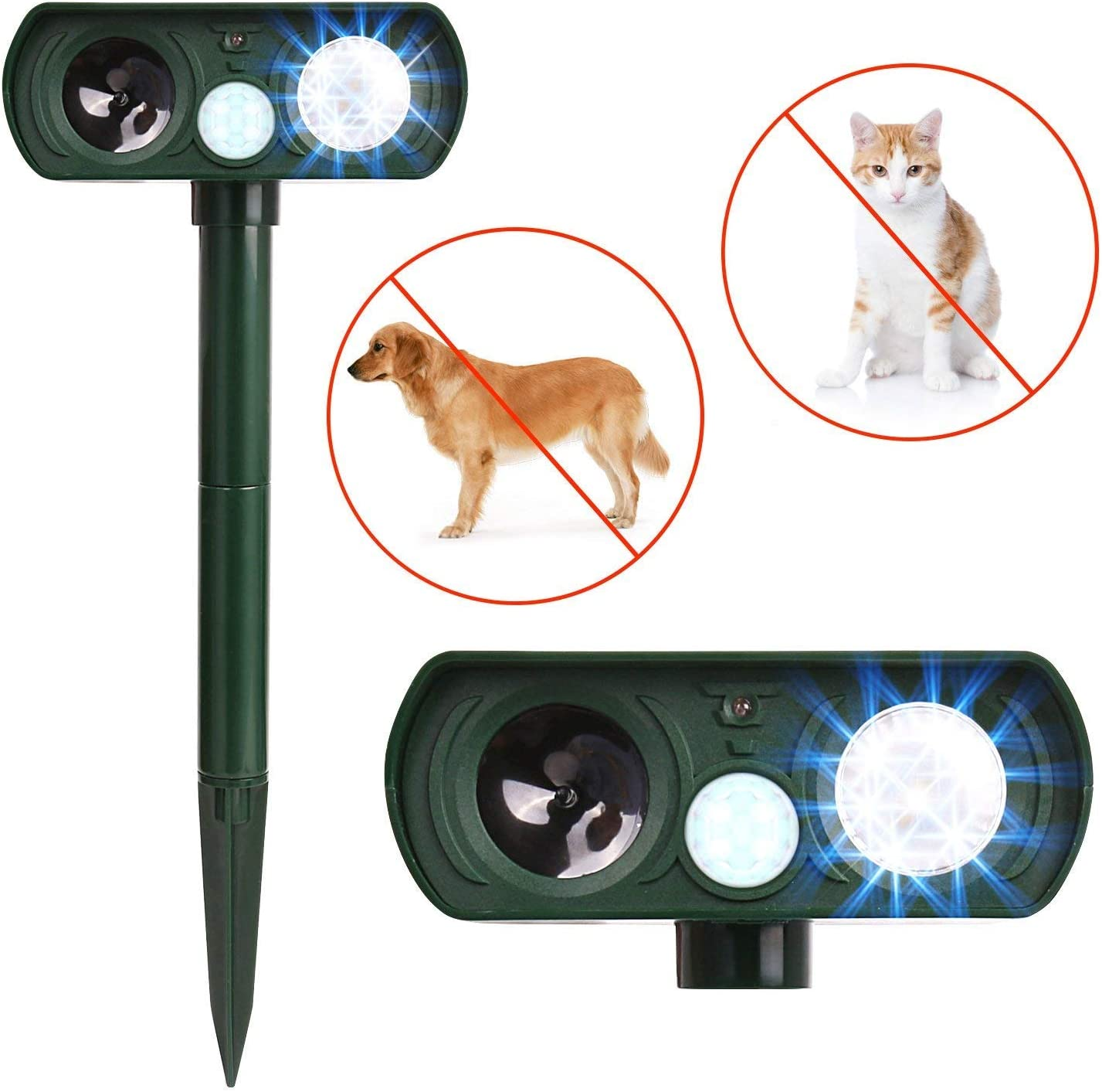 Dog Cat Repellent, Ultrasonic Animal Repellent