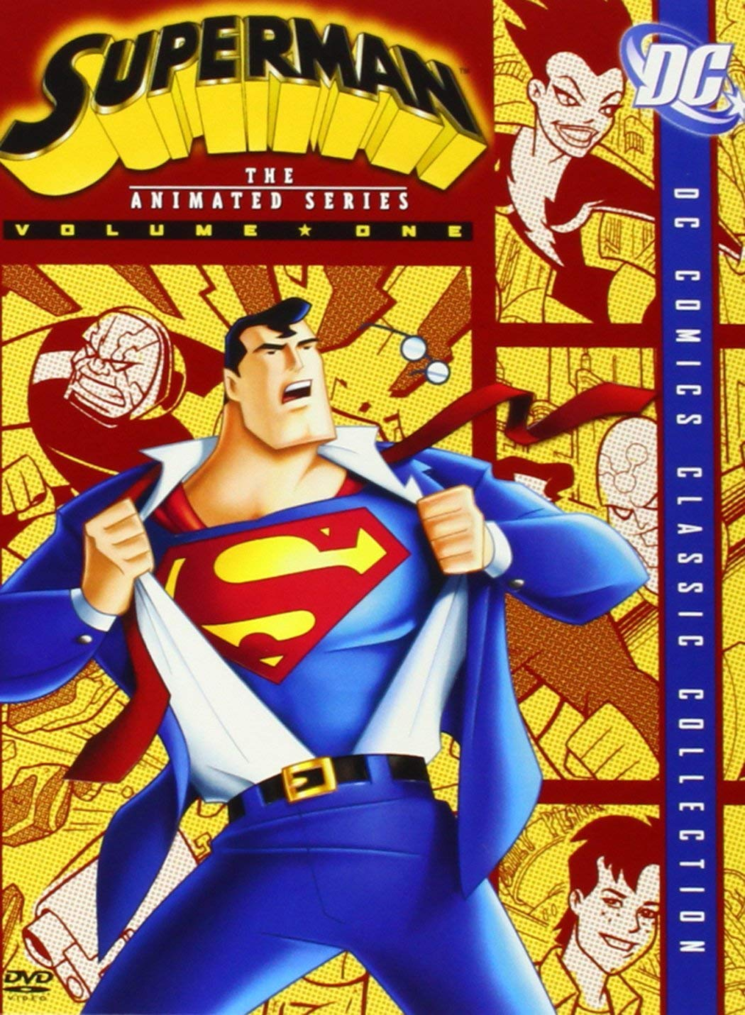 Superman: The Animated Series, Volume 1 (DC Comics Classic Collection) by WEA