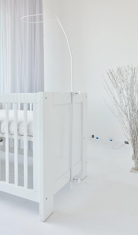 ComfortBaby/® Support pour ciel de lit Env 1,50/m Blanc