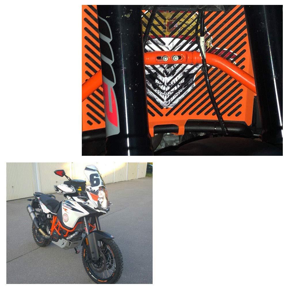 motorcycle kickstand side stand enlarger extension enlarger pate pad For KTM 1090 Adventure 2017 2018 1190 Adventure 2015 2016 1050 Adventure 1290 Super Adventure 2015-2018 Black - Silver