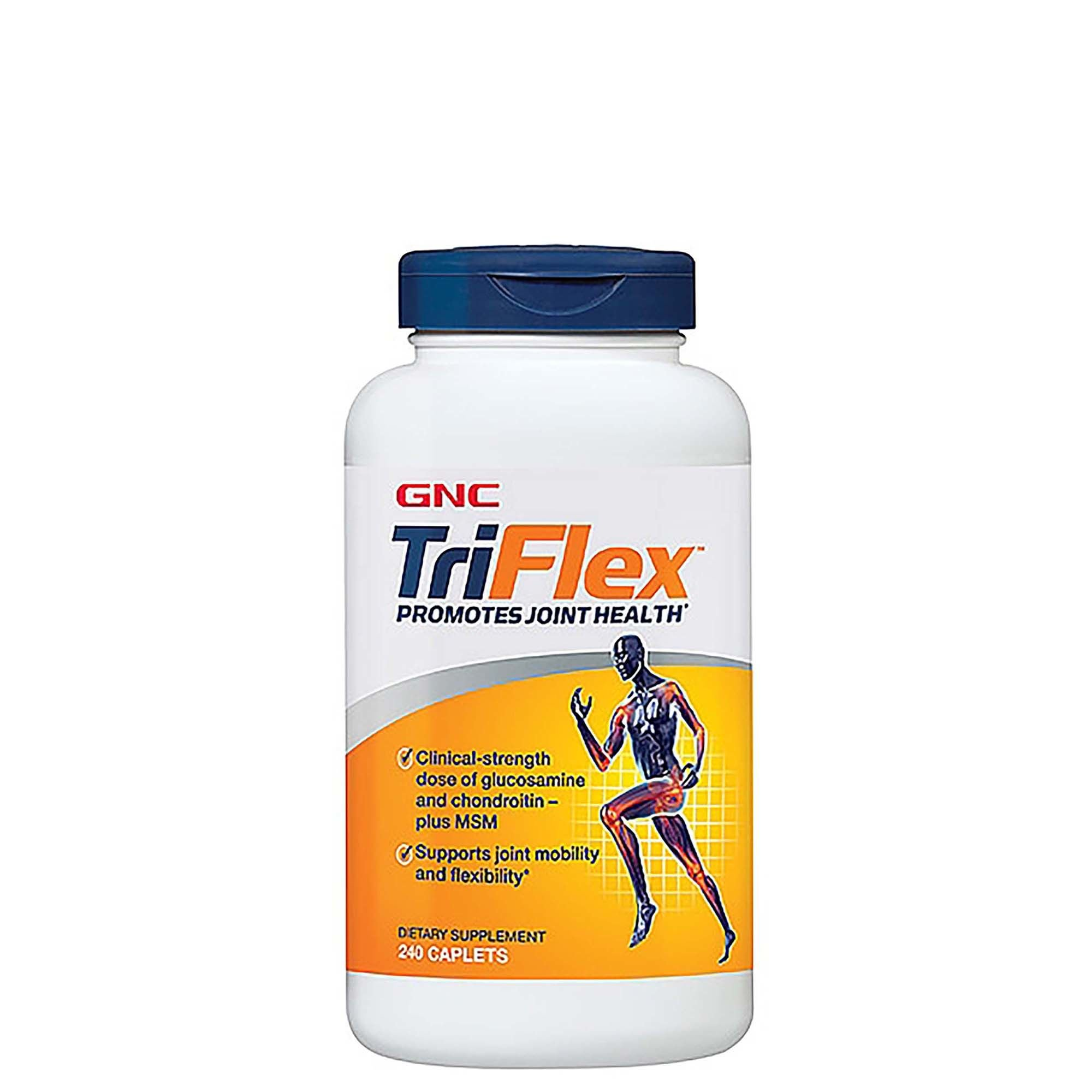 GNC TriFlex - Promotes Joint Health with Glucosamine, Chondroitin MSM - 240 Tablets